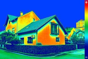 termografering af hus